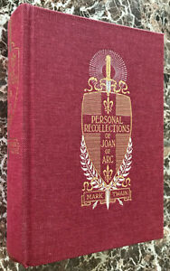 Personal-Recollections-of-Joan-of-Arc-Facsimile-of-1896-First-Edition-Mark-Twain