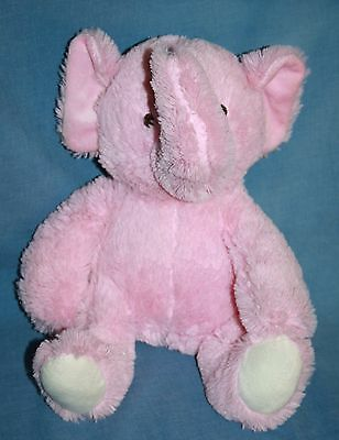 Baby Toy Stuffed Animal Squeaker Teething Ring Rattler Rattles Circus Elephant