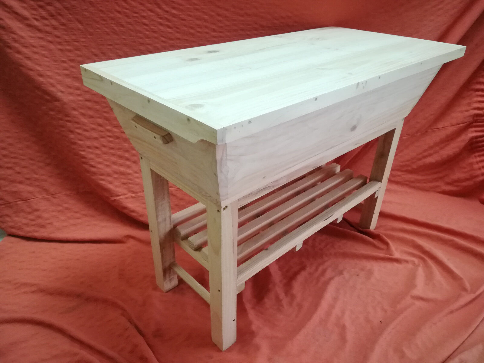 Mueble ARTESA de madera. Nuevo, XXL 85 cms. cms. cms. largo 081b25