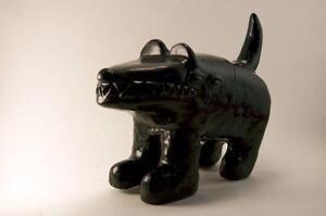 Mr. Black Diy Waodog Kaiju Figurine En Vinyle De Waotoyz