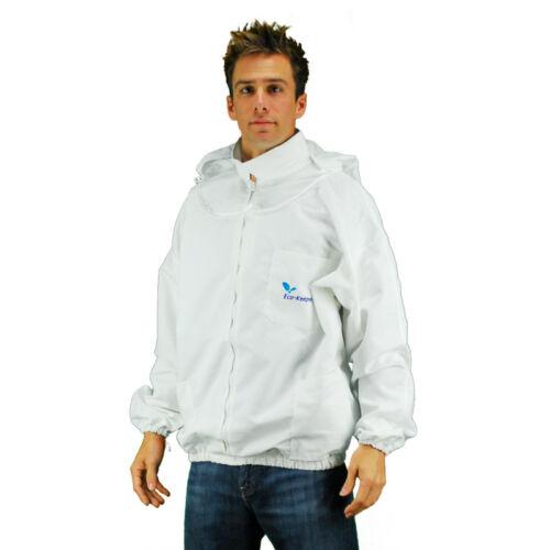 Bee Jacket -X Large-ZF Eco Keeper beekeeping clothing-Zippered Front Jacket