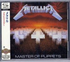 METALLICA-MASTER OF PUPPETS-JAPAN SHM-CD E50
