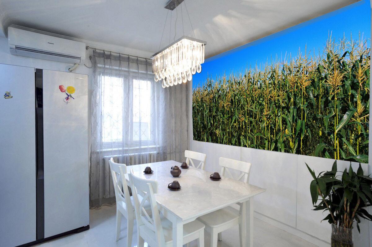 3D Maisfeld Himmel 576 Tapete Tapeten Mauer Foto Familie Tapete Wandgemälde DE