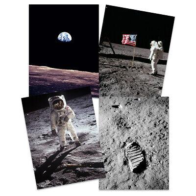 Vintage Buzz Aldrin Neil 405 Official NASA Apollo Space Suit Patent Art Print