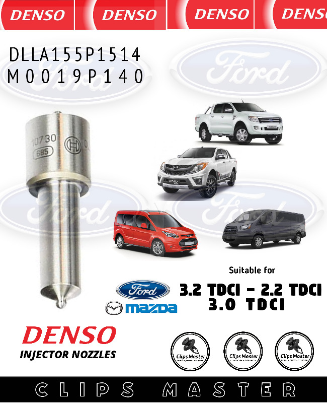 INJECTOR NOZZLES FOR FORD RANGER AND MAZDA BT50