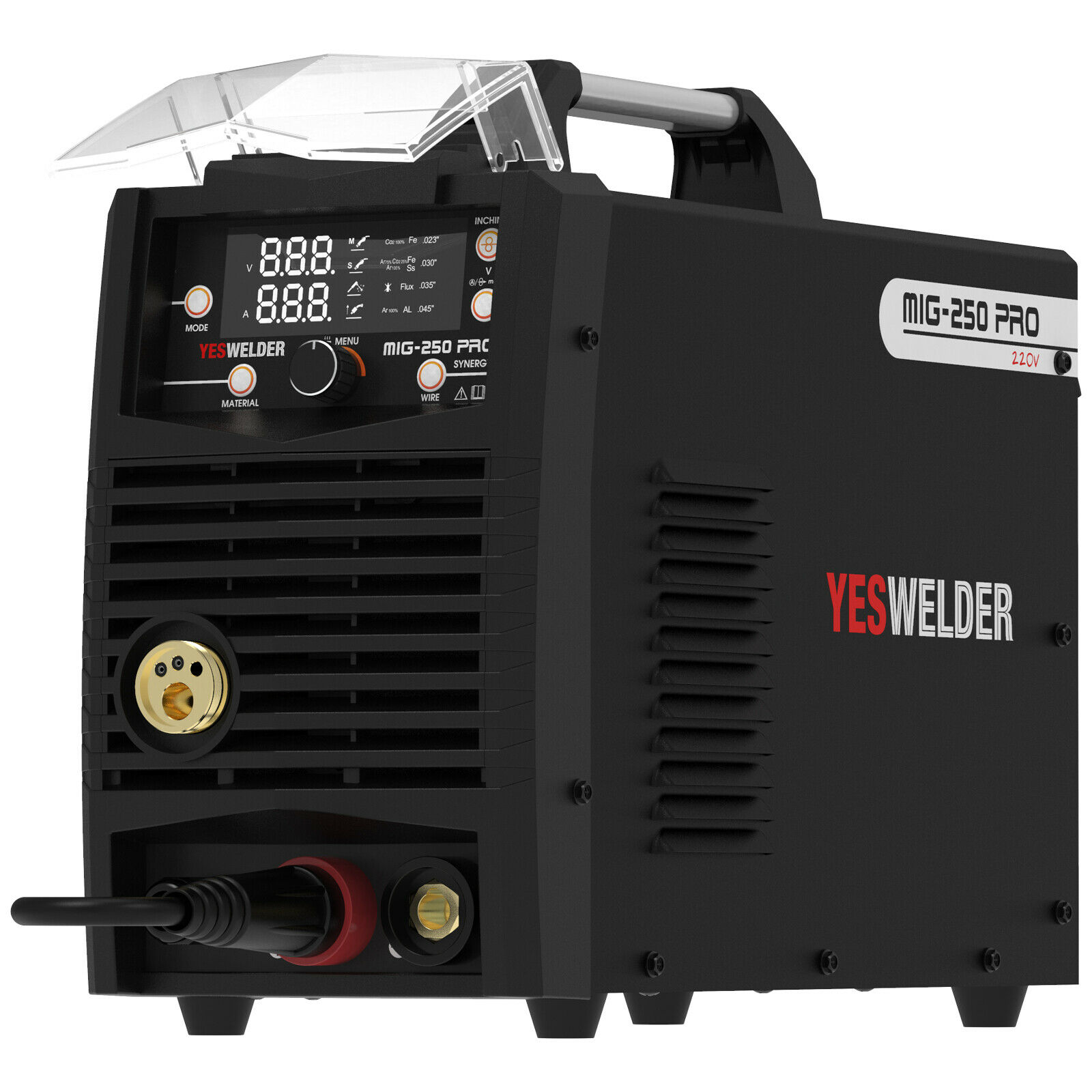MIG-250 PRO Aluminum MIG Welder,250A 220V,Welding Machine MIG/Lift TIG/ARC 3 in1. Buy it now for 499.99