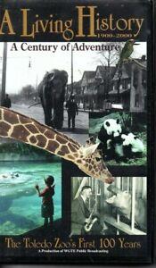 TOLEDO-ZOO-LIVING-HISTORY-DOCUMENTARY-VHS-Century-of-Adventure-WGTE-Ohio-PBS