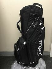 NEW Titleist GOLF Light Weight Cart Bag --- Black*