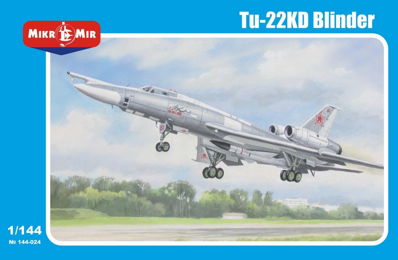 1 144 Tu-22 KD Shilo - new nice Mikromir model