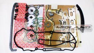 Elring-Pernos-cabeza-junta-conjunto-Kit-de-la-cadena-de-distribucion-para-Adam-Corsa-Astra-Insignia