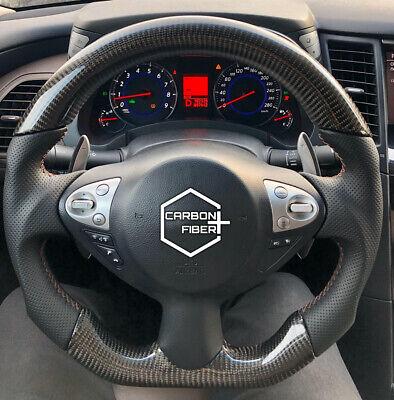 infiniti fx37 qx70 nissan 370z juke carbon sport steering wheel ebay ebay