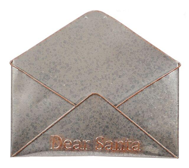 Dear Santa Galvanized Metal Letters