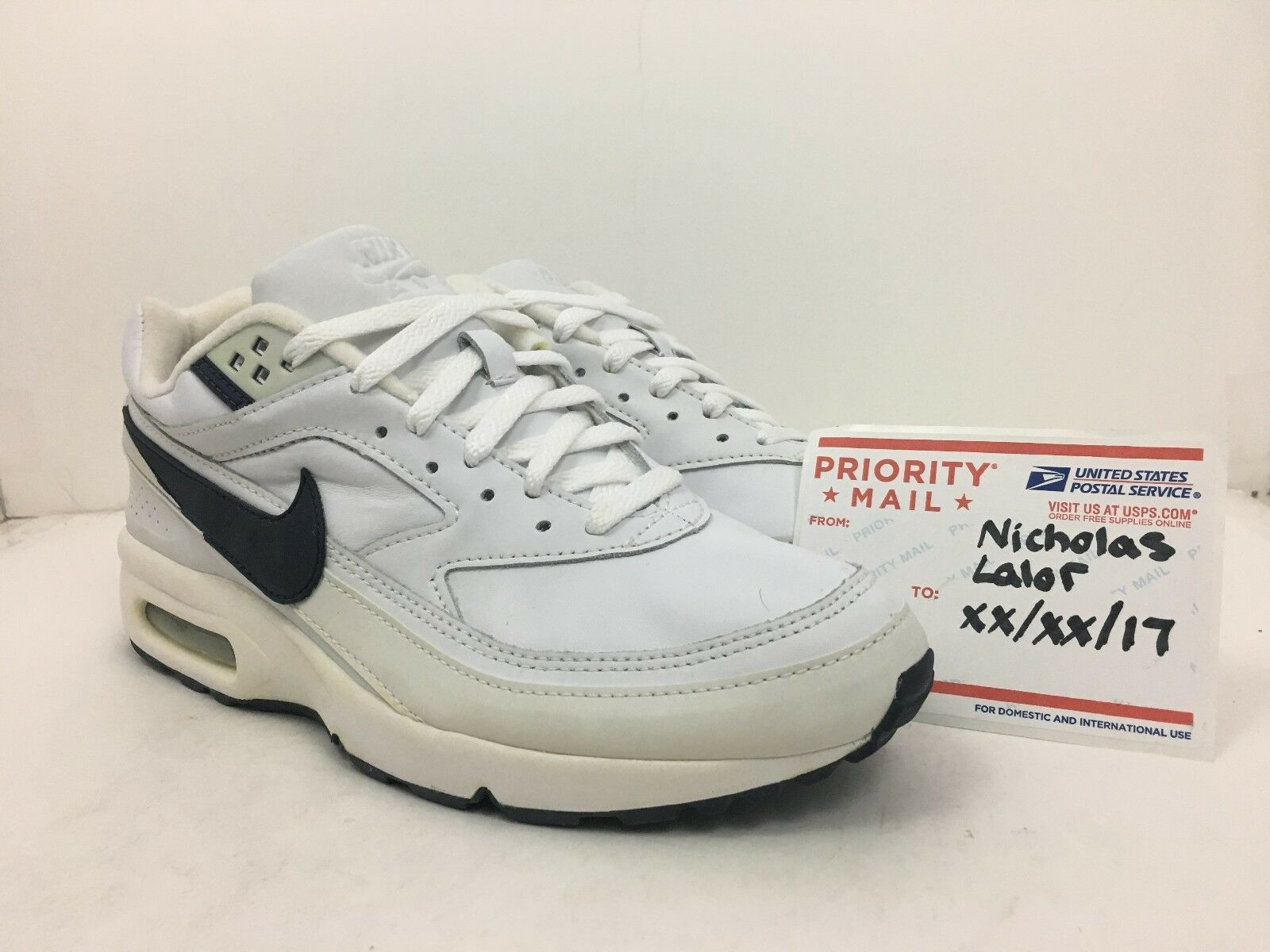 Nike Air Classic BW Pelle 2002 White/Navy size 11