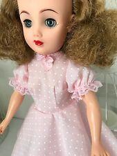Pink polka dot Dress & Knickers set for Vintage Teenage Fashion Doll