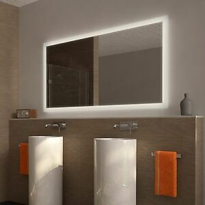 ♢♢ Badspiegel Beleuchtet Wandspiegel Badezimmerspiegel LED Spiegel ...