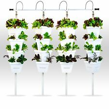 Vertical Hydroponic DIY 4 Tower Garden System