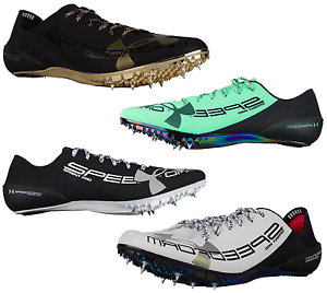 buy popular b5888 a44bb Image is loading Under-Armour-SpeedForm-Sprint-Pro-Track-Spikes-100m-