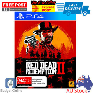 Playstation-4-PS4-Game-Red-Dead-Redemption-II-2-Open-World-Game-Online-Play