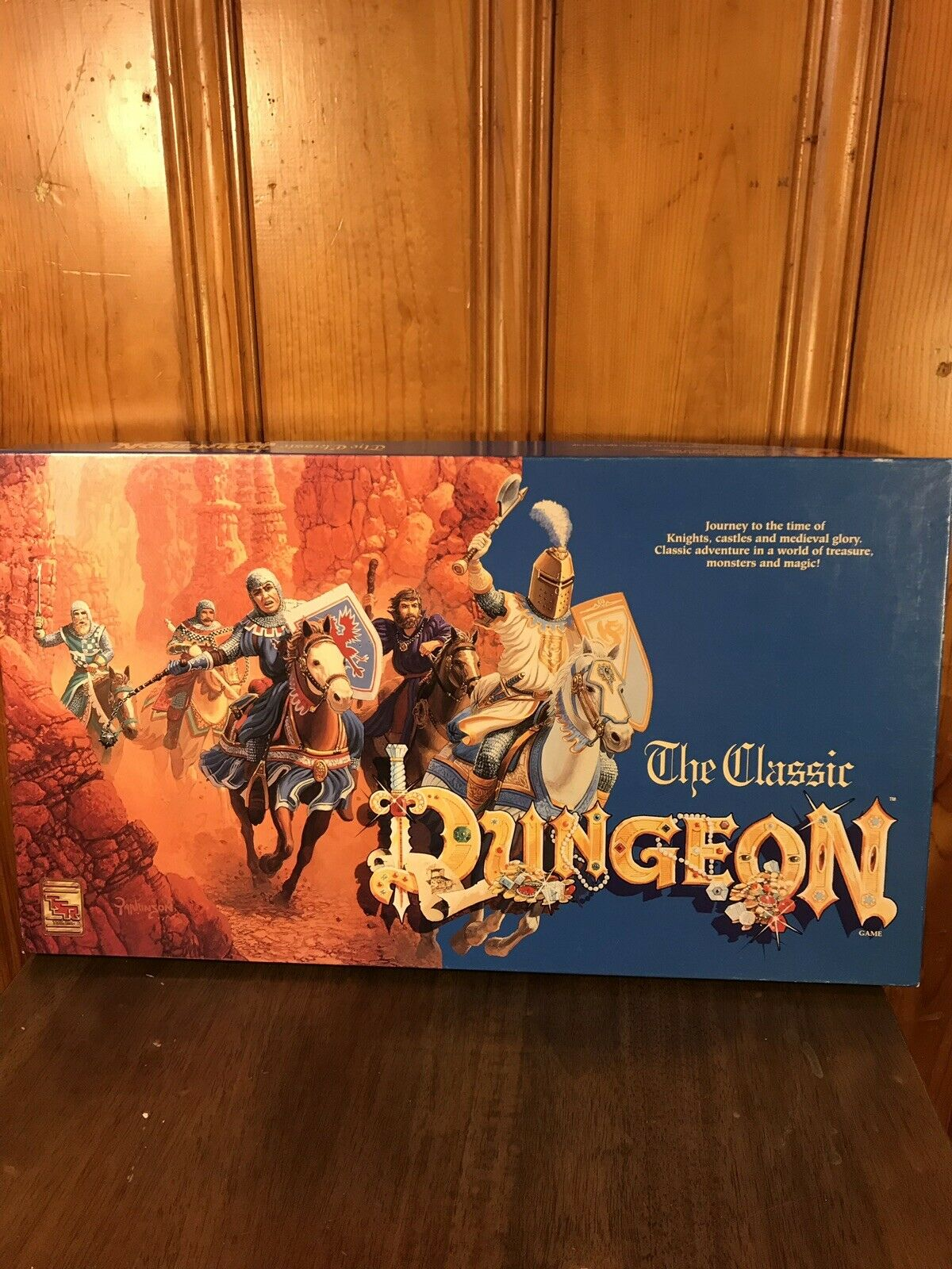 Vintage el clásico juego Dungeon TSR Board 1992 juegos de rol 99% Completo