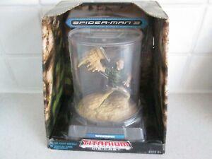 Bnmib Spider-man 3 Titanium Die Cast Sandman Figure-afficher Le Titre D'origine