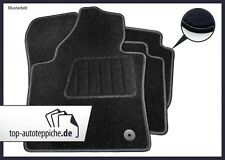 VW Golf 3 Vento 9/91-9/97 100% passform Fussmatten Autoteppich Schwarz