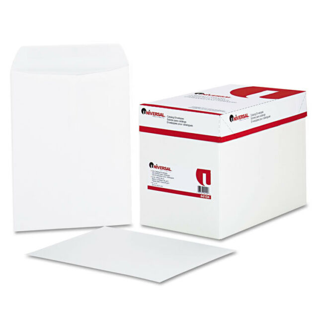 Universal Office Products 44104 Catalog Envelope Side Seam 9 X 12 White for sale online
