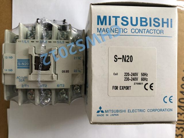 New  Mitsubishi  S-N20 AC110V  Ac contactor  free shipping