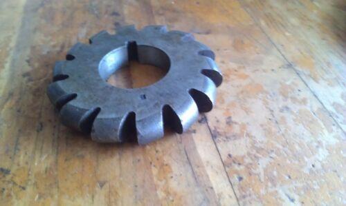 "OD 2 1//2/"" ESC TEC Sutton slotted bore: 1/"" HSS Convex Milling cutter 3//8/"""