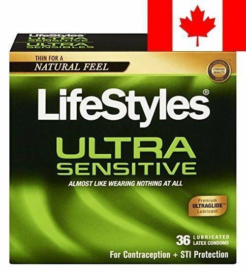Lifestyles Ultra Sensitive Condoms, 36 Count