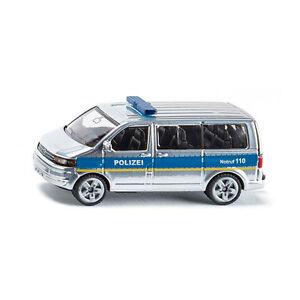 Siku 1350 VW T5 Facelift Mannschaftswag<wbr/>en silber/blau (Blister) NEU!°