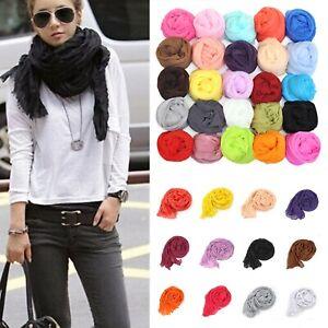 Candy-Color-Women-Girls-Long-Soft-Silk-Chiffon-Scarf-Wrap-Shawl-Pashmina-Scarves