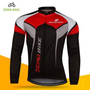 Men s MTB Clothing Cycling Jersey Bicycle Sportswear Long Sleeve ... 1a82ea36e