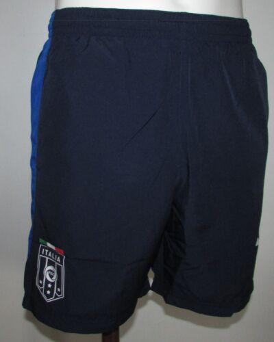 Boys Puma FIGC Italia Stadium Shorts - Peacoat-Team Power Blue Various sizes