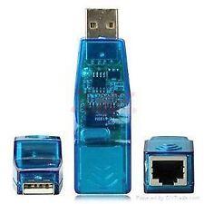 USB To Ethernet Network Lan Adapter Rj45 Internet Jack 10/100 mb