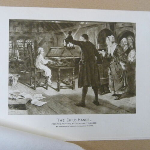PRINT decoupage THE CHILD HANDEL crafts// card making for framing CUTTING