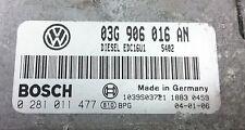 TUNED!!! VW GOLF V 2.0 TDI 140 BKD 03g906016an IMMO OFF PLUG&PLAY BOSCH ECU