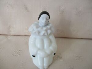 Pierrot-Vintage-Avon-Empty-Perfume-Bottle-039-Tasha-039-Height-9-Cms-Sitting-Figure