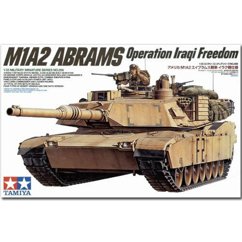 TAMIYA 35269 M1A2 Abrams Tank OIF 1 35 Military Model Kit
