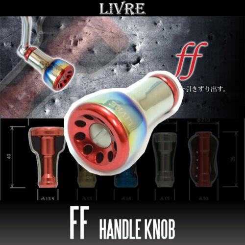 Titanium Handle Knob 1 piece FIRE Fortissimo RED LIVRE ff