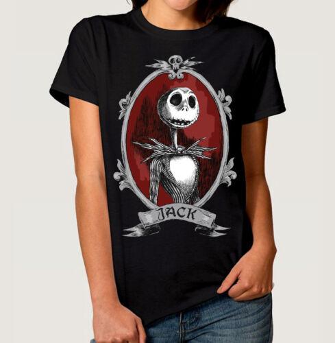 The Nightmare Before Christmas Jack Art T-shirt Men/'s Women/'s All Sizes