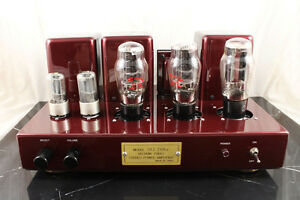 Bowei-2A3B-Hi-End-Class-A-Tube-Integrated-Amplifier-RED
