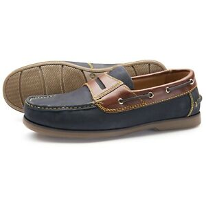 Samuel-Windsor-Men-039-s-Shoes-Classic-Deck-Slip-On-Casual-Navy-Brown-UK-Sizes-5-14