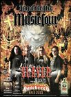 Slayer with Hatebreed 2003 Jagermeister Music Tour advertisement 8 x 11 ad print