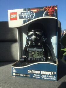 Star Wars LEGO SHADOW TROOPER ALARM CLOCK 2012 EXTREMELY RARE !!!!