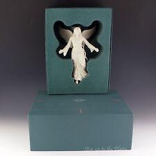 Lenox China Renaissance ANGEL Bisque Xmas Tree Top Topper Star Ornament 1980 MIB