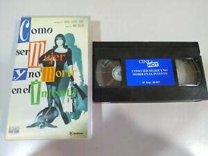 Como-ser-mujer-y-no-morir-en-el-intento-Carmen-Maura-VHS-Cinta-Tape-Espanol