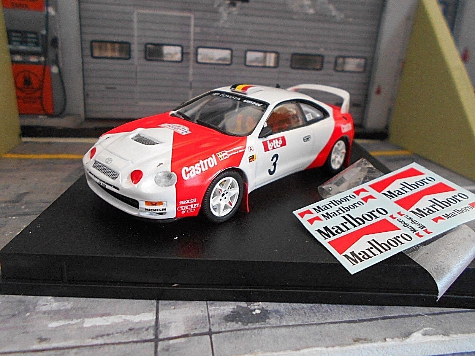 Toyota Celica st205 GT Rallye Boucles de Spa 1996  3 VERREYDT Marlb Trofeu 1 43