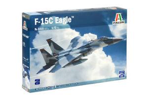 Italeri-1415-1-72-Scale-Model-Aircraft-Fighter-Kit-McDonnell-Douglas-F-15C-Eagle