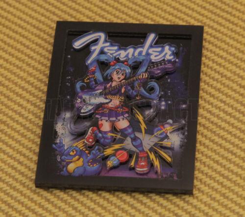 910-0310-000  Fender™ Anime Girl Rocker Magnet Space Age Stratocaster® Guitar
