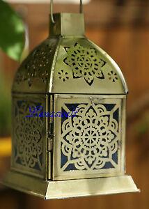 ORIENTALISCHE LATERNE MAROKKANISCHE BERK LAMPE Marakesch türkis TEELICHTHALTER